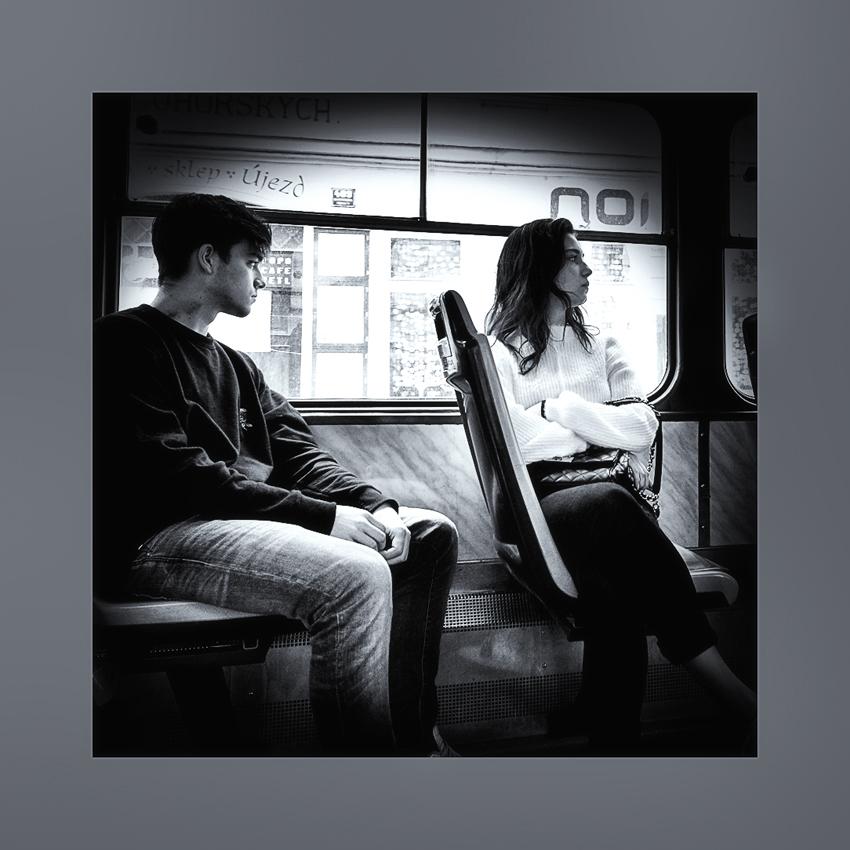 """фото """"Поссорились..."""" метки: черно-белые, стрит-фото,"""