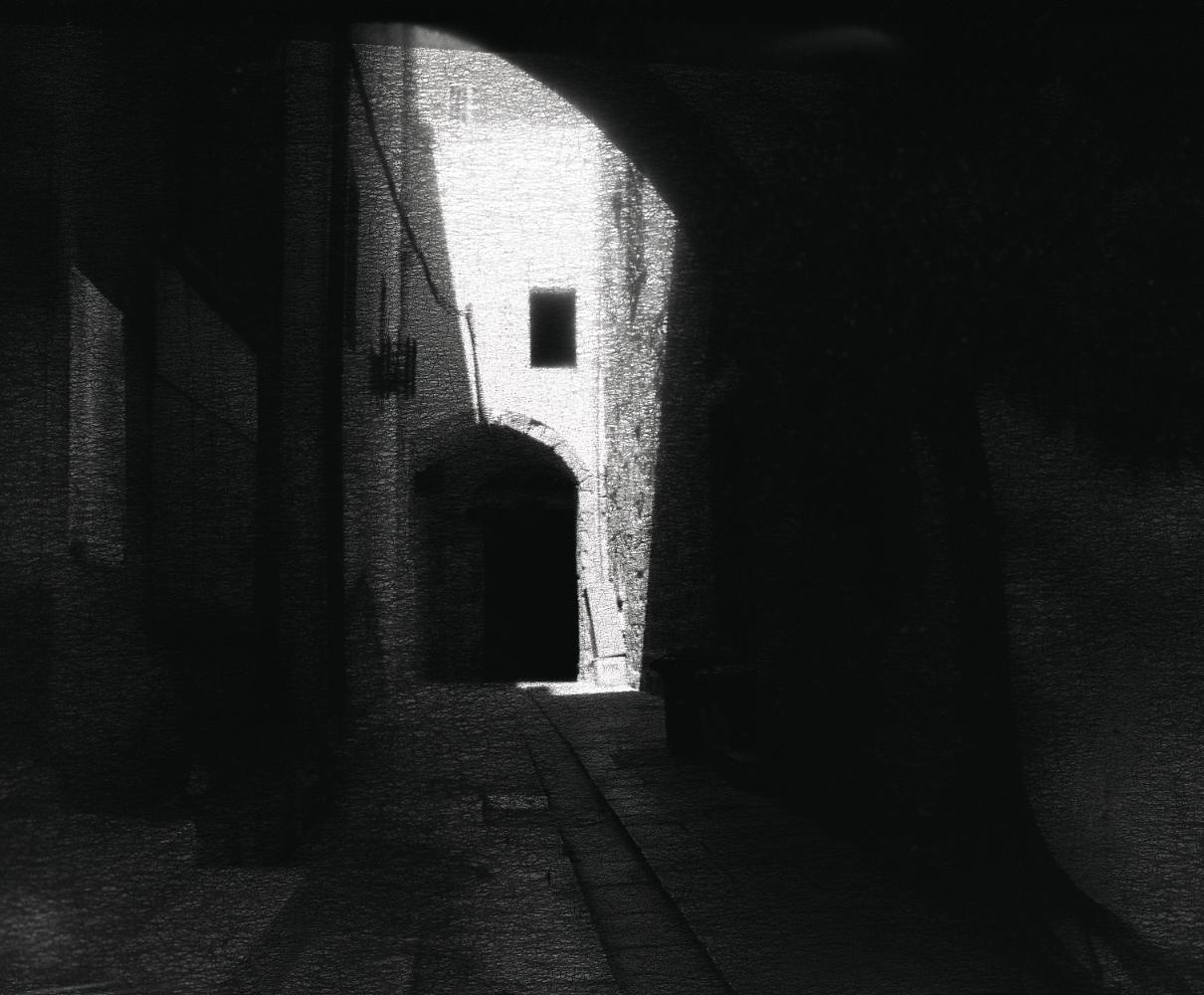 "photo ""***"" tags: architecture, street, black&white,"