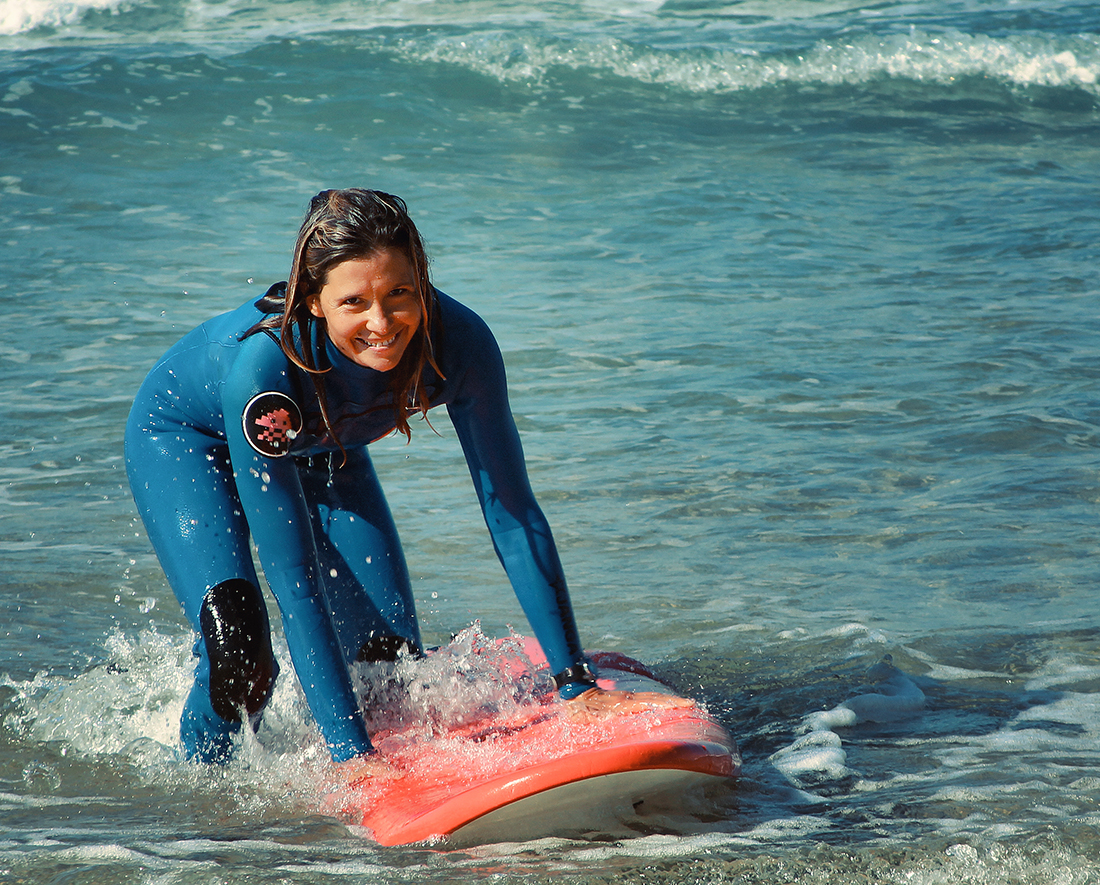 """photo """"Surfer girl"""" tags: travel, sport,"""