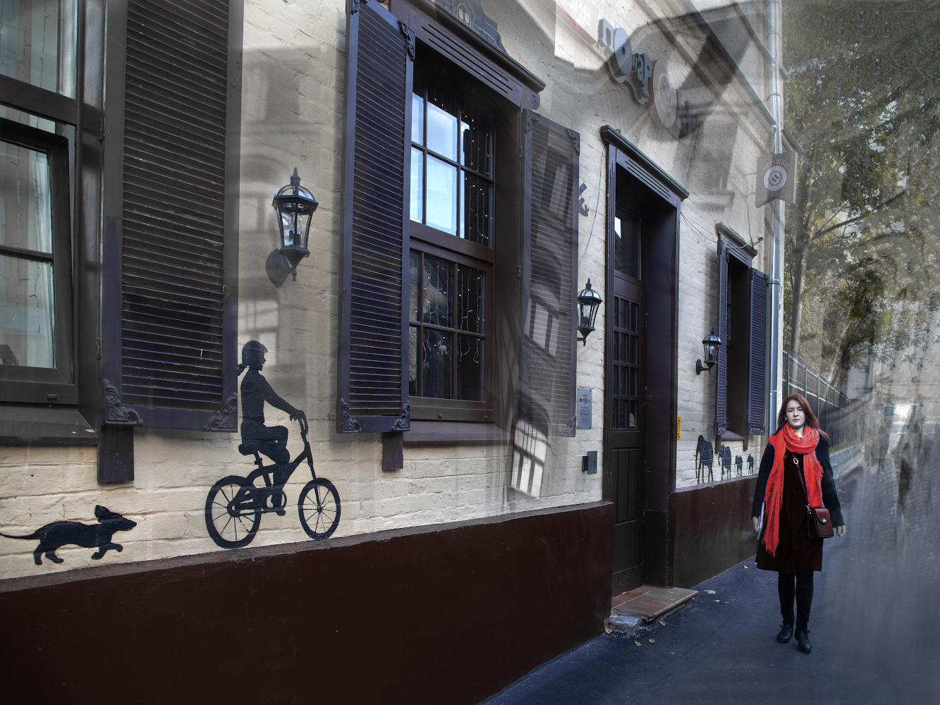 "photo ""***"" tags: city, street, montage,"