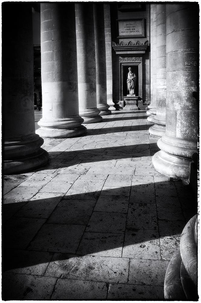 "photo ""Striped"" tags: travel, architecture, black&white, Мальта"