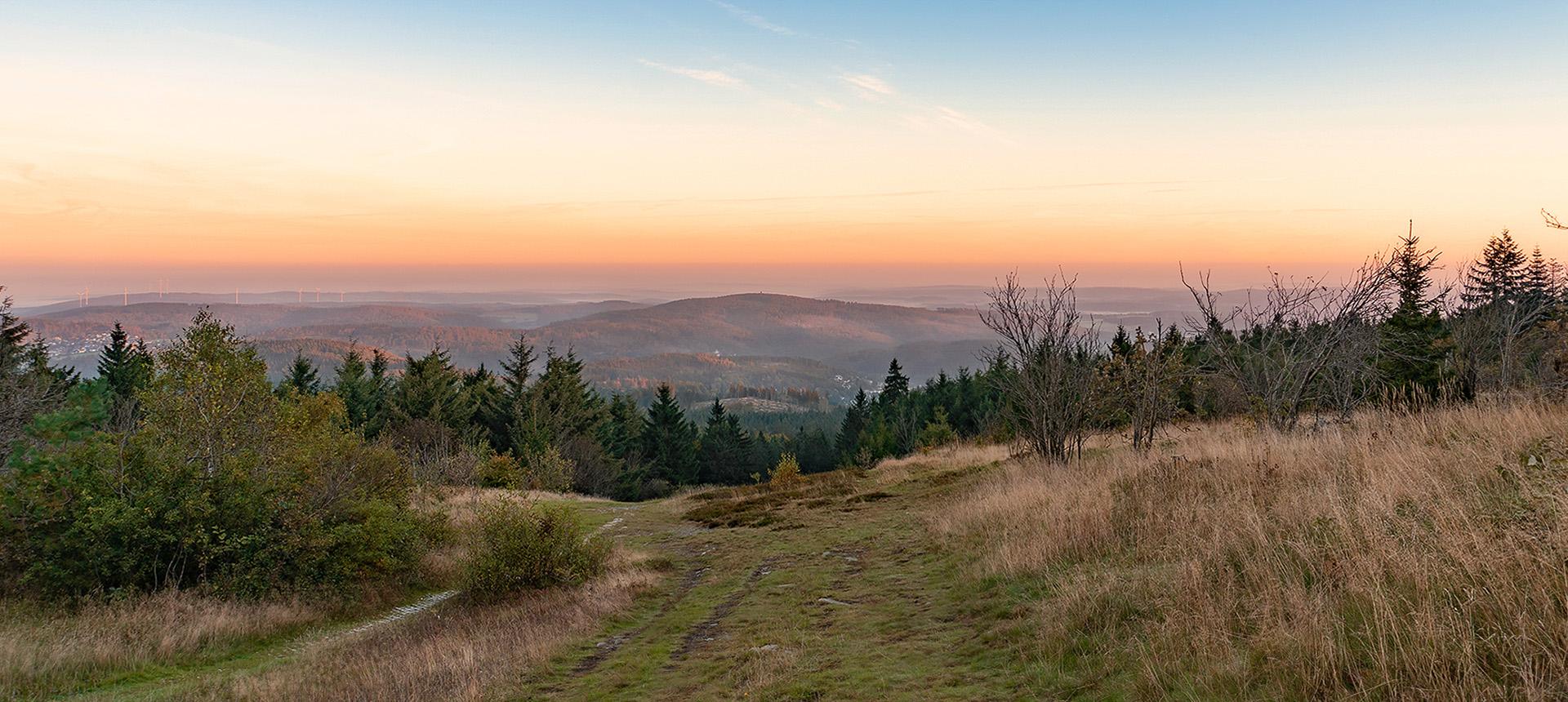 """фото """"Рассвет в Таунусе"""" метки: пейзаж, природа, путешествия,"""